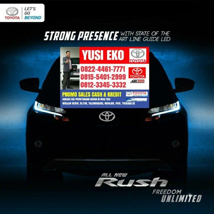 Toyota rush kediri
